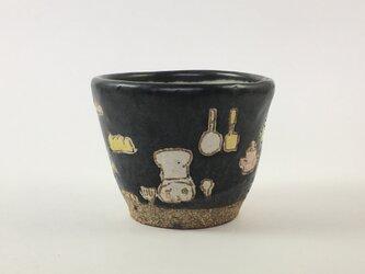 黒色のカップ-kitchen -の画像
