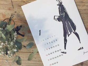 2018年 水彩カレンダー(1月末で販売終了)の画像