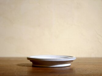 【高盤1】皿 白妙の画像