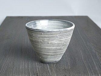 白化粧刷毛目フリーカップの画像