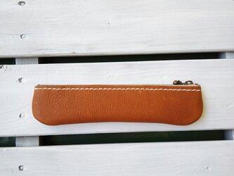 革のペンケース 004-013の画像