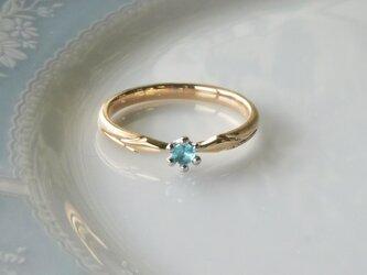 パライバトルマリン指輪の画像