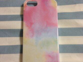 iPhone5ケース ピンクの画像
