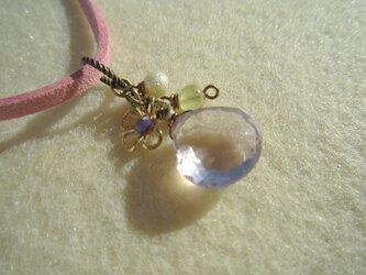 宝石質プチアメトリンのネックレス(パート2)の画像