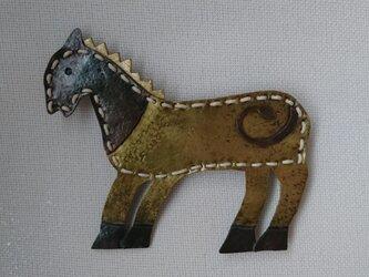 馬ブローチの画像