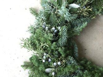 エバーグリーン冬の訪れリース*予約商品*の画像