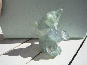 フローライトのイルカ(ドルフィン・小)の画像