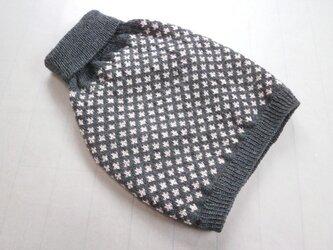 犬服 S様オーダーメイド品:洗濯機OKドーベルマン用編み込みベストの画像