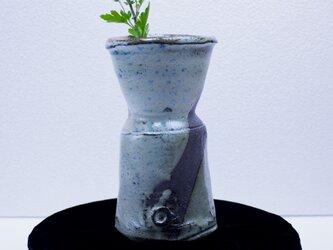碧灰窯変 花瓶(中) A花-02Iの画像
