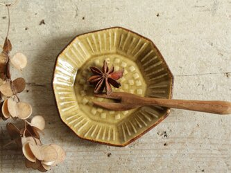 豆皿 たんぽぽ きせと系の画像