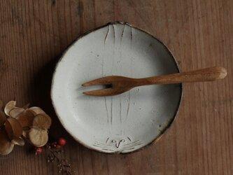 豆皿 うさぎ やさしい雰囲気の白マット系の画像