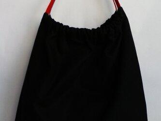 佐賀錦の帯締めを持ち手に使ったグラニーバッグの画像