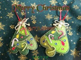 FELT&ZIPPER クリスマスツリー飾り~TREE~の画像