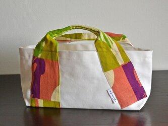 型染め 帆布バッグ kawaの画像