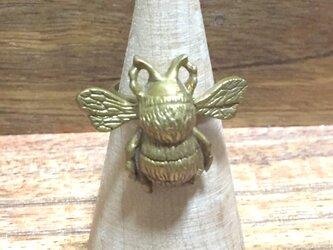 マルハナバチの飛行!(リング・真鍮製)の画像