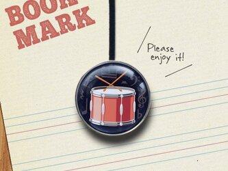 「ドラム柄のクリップ型ブックマーク」No.232の画像