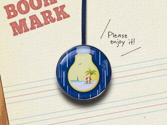 「常夏電球のクリップ型ブックマーク」No.235の画像