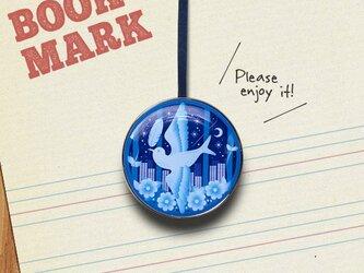「青い鳥のクリップ型ブックマーク」No.236の画像