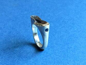 Silverの∞ピンキーリング サファイアの画像