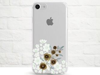Floral Poem クリアソフト ケースの画像