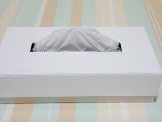内側かわいい ティッシュボックスの箱の画像