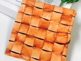 オトナかわいいサニタリーケース ハンプ リアルかごプリントの画像