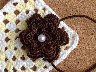 お花のモチーフゴム~その5の画像