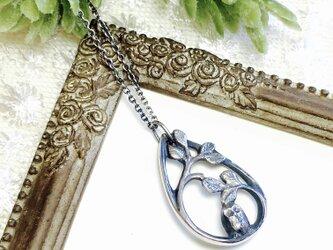 森の賢者フクロウのネックレスの画像