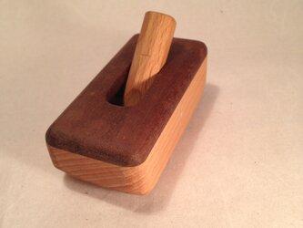 木のスイッチ ウォールナット ブナの画像