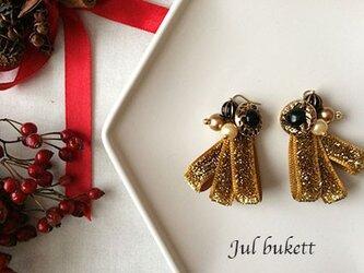 Jul bukett:クリスマスの花束(ga)- ピアスの画像
