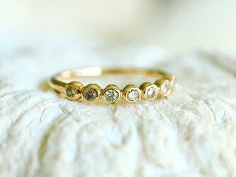 K14YG[brugge]ダイヤモンド ringの画像