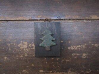 小さいかべかざり 木の画像