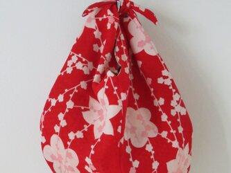 長襦袢と着物裏からのあずま袋の画像