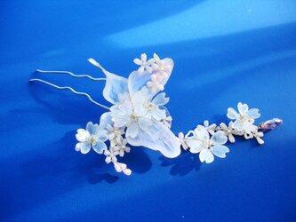 桜蝶(かんざし)の画像