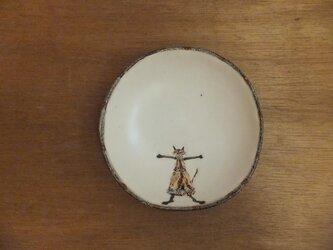 小皿№17 ネコ(stop)の画像