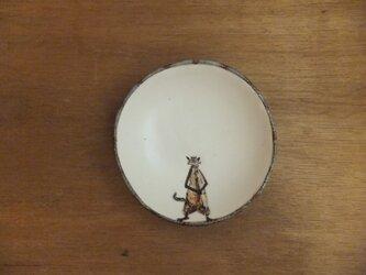小皿№16 ネコ(かんむり)の画像