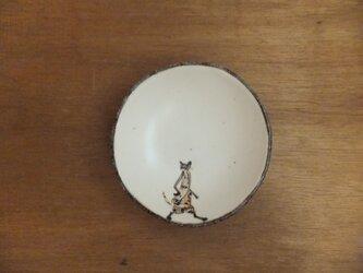 小皿№15 ネコ(斜め掛けバック)の画像