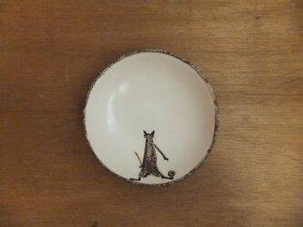小皿№14 ネコ(ボール遊び)の画像