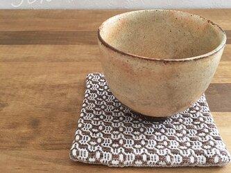 Coaster[手織りコースター]チョコレートの画像