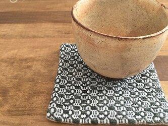 Coaster[手織りコースター]深緑の画像