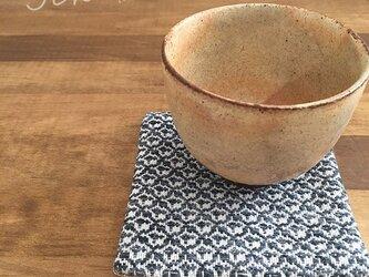 Coaster[手織りコースター]ジーンズブルーの画像