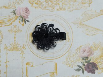 saltamスアロ付お花クリップMの画像