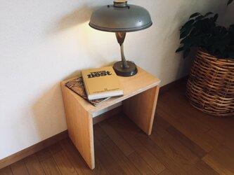 nk-utility stool Oakの画像