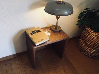 nk-utility stool Walnutの画像