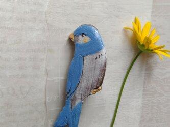 ツバメのブローチ の画像
