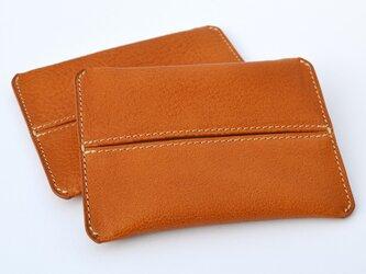 ポケットティッシュケース(キャメル)の画像