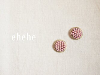minori-berry刺繍ピアスorイヤリングの画像