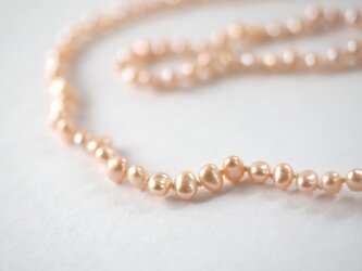 【淡水真珠のネックレス P】 の画像