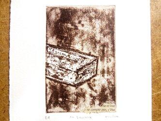 銅版画・バターの画像