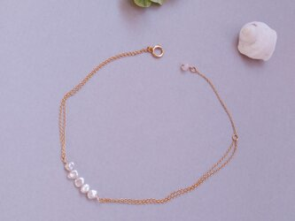 Keshi Pearl Braceletの画像